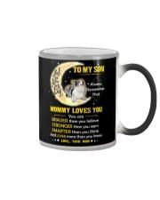 Cardigan Welsh Corgi Son Mom Mommy Loves You Color Changing Mug thumbnail