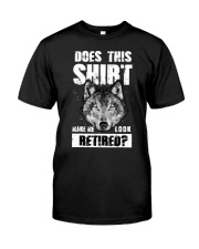 Look Retired Wolf Classic T-Shirt front