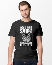 Look Retired Wolf Classic T-Shirt lifestyle-mens-crewneck-front-15