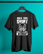 Look Retired Wolf Classic T-Shirt lifestyle-mens-crewneck-front-3