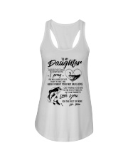 Fishing Daughter Mom Love you for the rest of mine Ladies Flowy Tank thumbnail