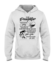 Fishing Daughter Mom Love you for the rest of mine Hooded Sweatshirt thumbnail