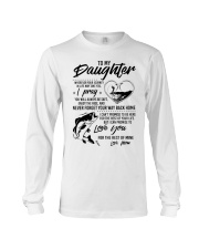 Fishing Daughter Mom Love you for the rest of mine Long Sleeve Tee thumbnail