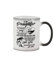 Fishing Daughter Mom Love you for the rest of mine Color Changing Mug thumbnail