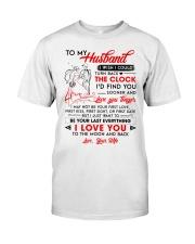 Family Husband Clock Everything Moon Classic T-Shirt thumbnail