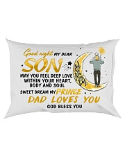 Sweet Dream My Prince Son Rectangular Pillowcase back