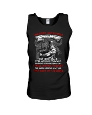 They Made Me Stronger Viking  Unisex Tank thumbnail