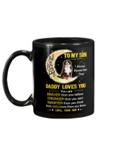 Bernese Mountain Dog Son Dad Daddy Loves You Mug back