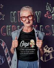 Gigi Grandmother  Ladies T-Shirt lifestyle-holiday-crewneck-front-3