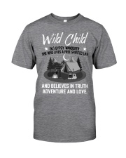 CAMPING Wild child  Classic T-Shirt front