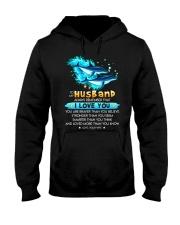 Dolphin Husband I Love You Hooded Sweatshirt thumbnail