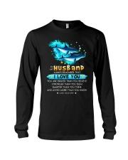 Dolphin Husband I Love You Long Sleeve Tee thumbnail