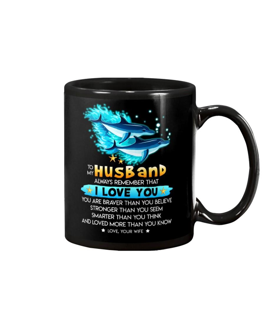 Dolphin Husband I Love You Mug