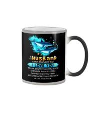 Dolphin Husband I Love You Color Changing Mug thumbnail