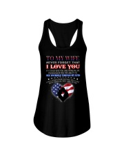 Veteran How Special You Are Mug Wife Ladies Flowy Tank thumbnail