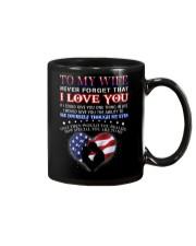 Veteran How Special You Are Mug Wife Mug front