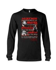 Wolf To My Son Dad Long Sleeve Tee thumbnail
