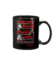 Wolf To My Son Dad Mug front
