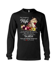 Wolf Wife I Love You Always And Forever Long Sleeve Tee thumbnail