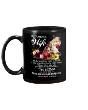 Wolf Wife I Love You Always And Forever Mug back