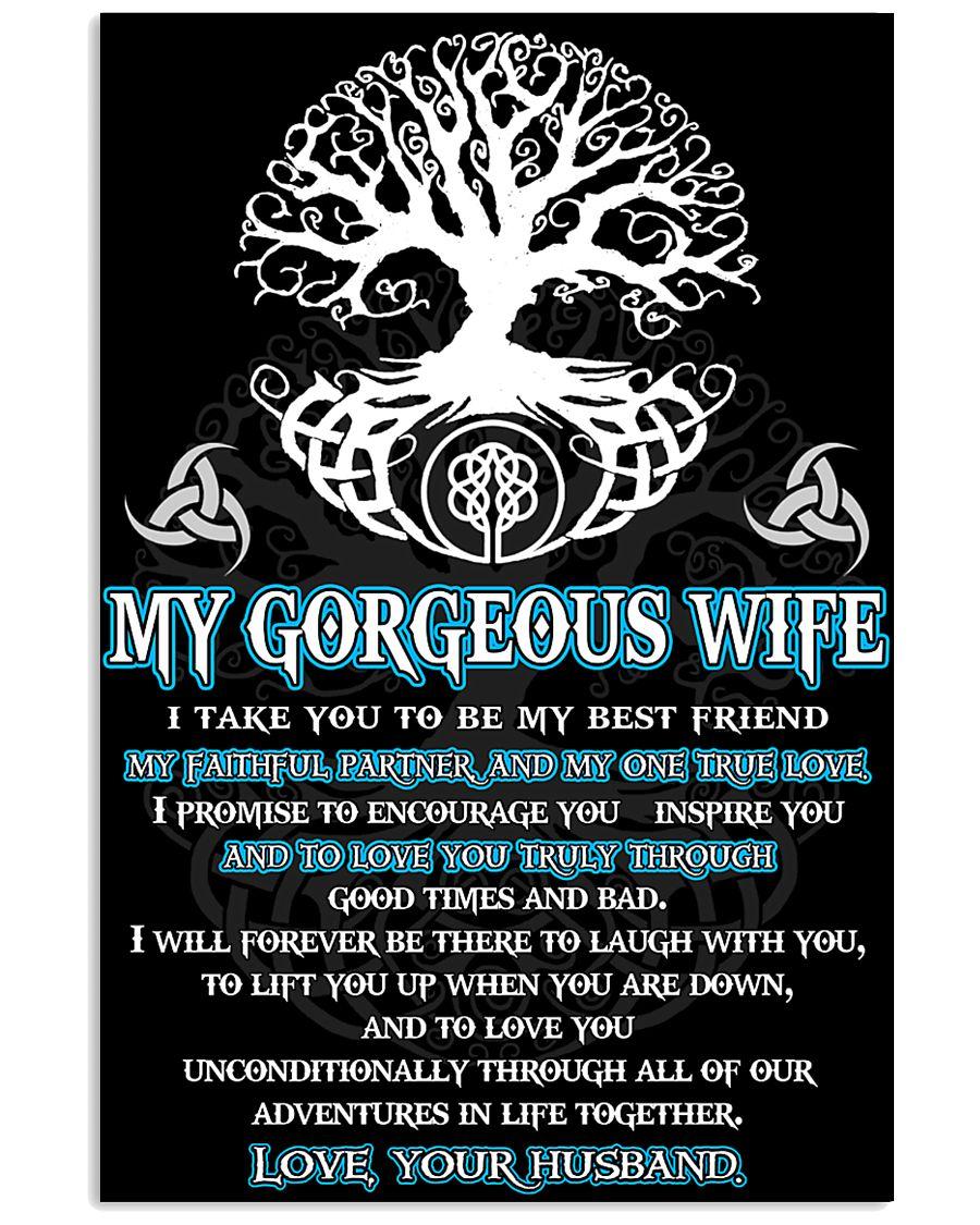 Faithful Partner True Love Wife Viking 11x17 Poster