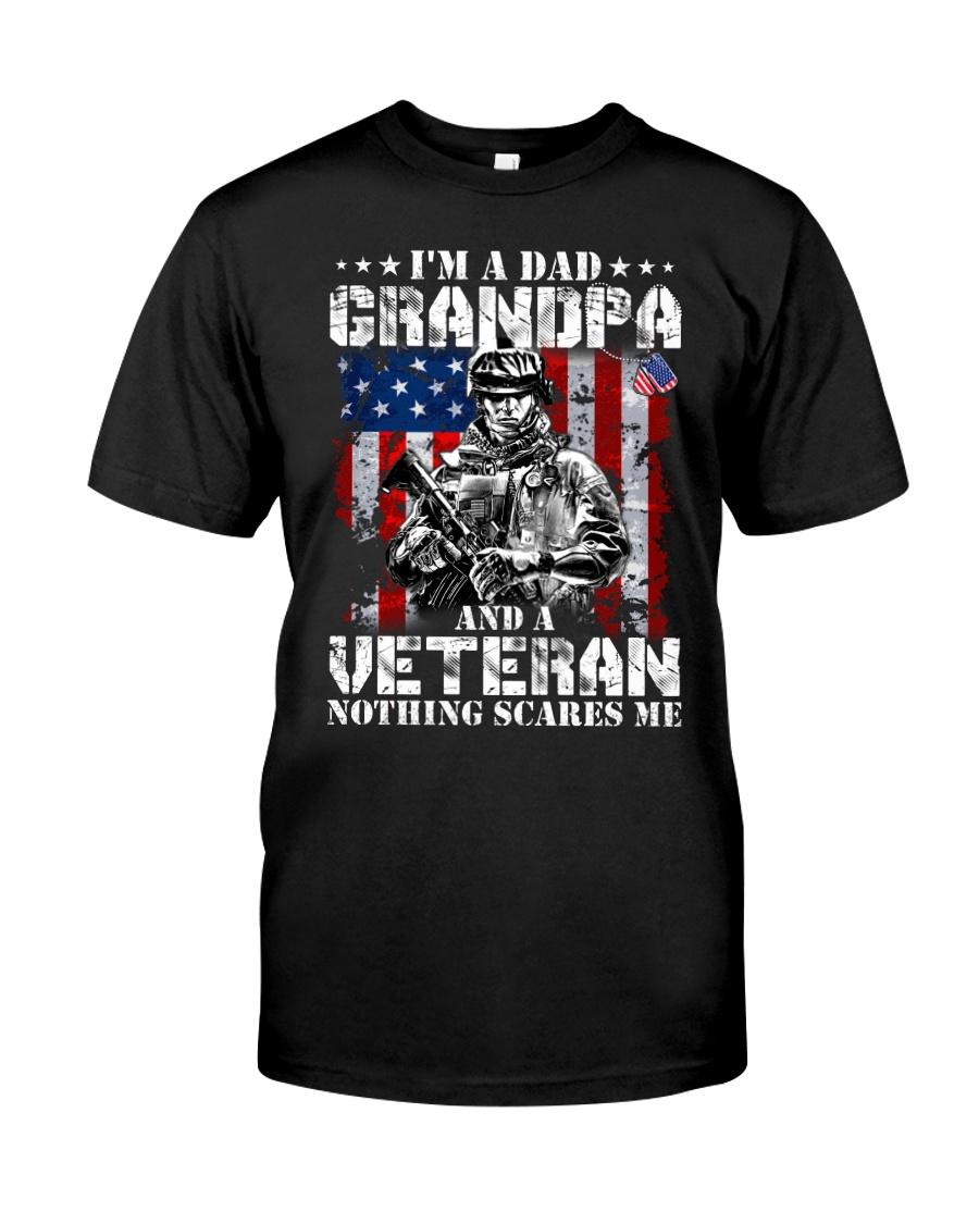 Veteran Grandpa pride Classic T-Shirt