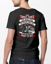 Trucker 3 sides Classic T-Shirt lifestyle-mens-crewneck-back-5