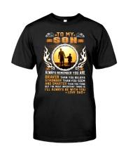 Trucker to my son mug  Classic T-Shirt thumbnail
