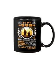 Trucker to my son mug  Mug front
