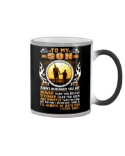 Trucker to my son mug  Color Changing Mug thumbnail