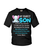 Elephant My Baby Son Youth T-Shirt thumbnail