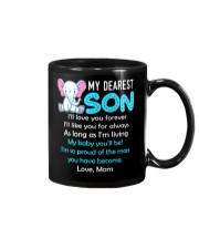 Elephant My Baby Son Mug tile