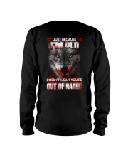 Wolf Keeping To The Shadows Long Sleeve Tee thumbnail