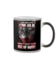 Wolf Keeping To The Shadows Color Changing Mug tile