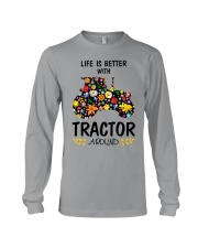 Farmer Tractor Life is better  Long Sleeve Tee thumbnail