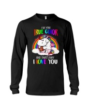 I See Your True Color Long Sleeve Tee thumbnail