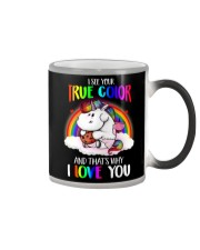 I See Your True Color Color Changing Mug thumbnail