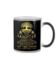 Viking Courage Daughter Color Changing Mug thumbnail