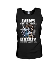 Daddy With Pretty Daughter Unisex Tank thumbnail