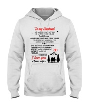 Hiking No Matter Happens Hooded Sweatshirt thumbnail