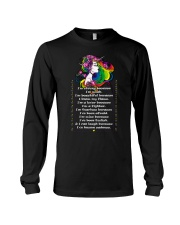 Unicorn I'm strong because I'm weak T-shirt Long Sleeve Tee thumbnail