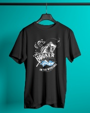 I'm A Hooker On The Weekends Classic T-Shirt lifestyle-mens-crewneck-front-3
