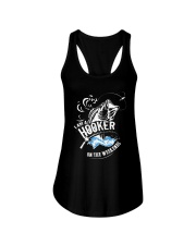I'm A Hooker On The Weekends Ladies Flowy Tank thumbnail