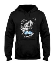 I'm A Hooker On The Weekends Hooded Sweatshirt thumbnail