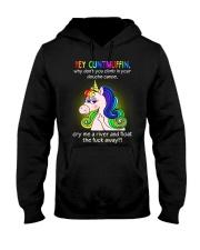 Hey Cuntmuffin Hooded Sweatshirt thumbnail