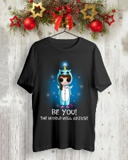 Unicorn Be You Classic T-Shirt lifestyle-holiday-crewneck-front-2