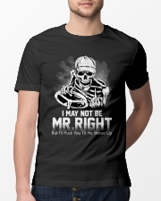 Trucker Mr Right shirt Classic T-Shirt lifestyle-mens-crewneck-front-13