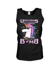 Unicorns Are Fragile Like A Bomb Unisex Tank thumbnail