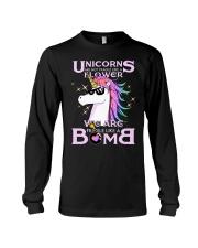 Unicorns Are Fragile Like A Bomb Long Sleeve Tee thumbnail