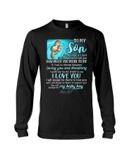 Otter Son Last Breath To Say Love  Long Sleeve Tee thumbnail